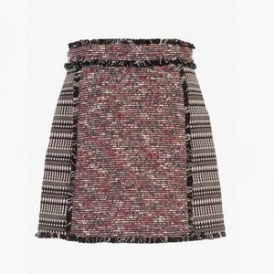 French Connection ~ Pixel Mix Cotton Mini Skirt